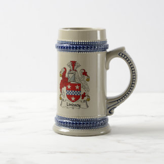 Lindsey Coat of Arms Stein - Family Crest