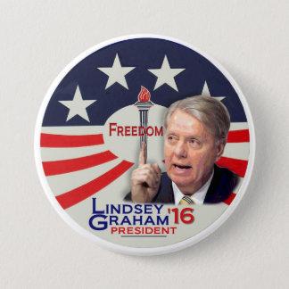 Lindsey Graham for President 2016 7.5 Cm Round Badge