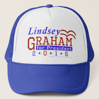 Lindsey Graham President 2016 Election Republican Trucker Hat