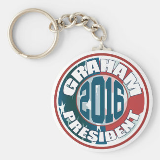 Lindsey Graham President 2016 Key Ring
