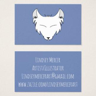 Lindsey Mercer Logo Business Card