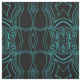 Line Art Design Pattern Fabric