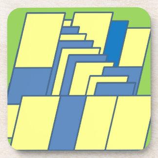 Line Art Illustration Coasters