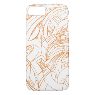 line art phone case