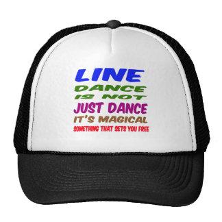 Line Dance is not just dance It's magical Hat