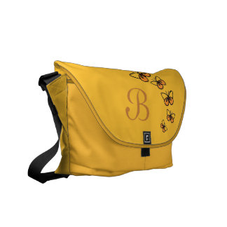 Line Dance Messenger Bag