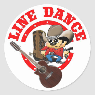 LINE Dance sticker Roy largely
