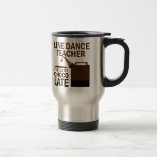 Line Dance Teacher Fueled By Chocolate Gift Mug