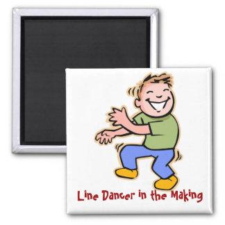 Line Dancer in the Making! (Boy) Fridge Magnet