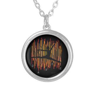 Line Dancer (v3) Silver Plated Necklace