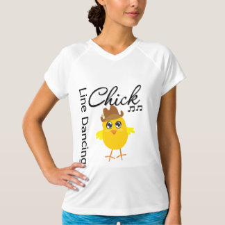 Line Dancing Chick T-Shirt