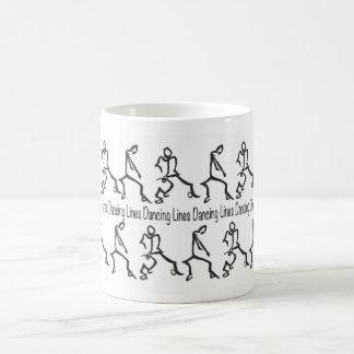 Line Dancing Coffee Mug