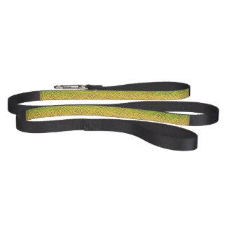 Line, dog leash, Celtic knot, multicolored Pet Leash