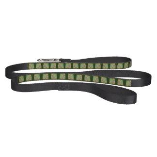 Line, dog leash, Celtic knot, paw, green Pet Lead