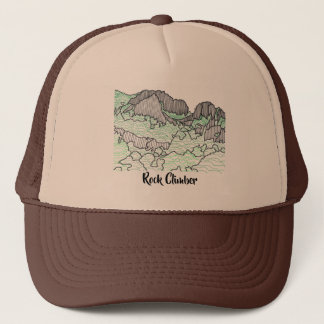 Line Drawing Rocks Mountains Your Words Hats
