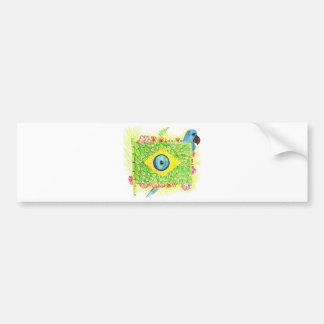 Line of Arara.Brasil Stationery store Bumper Sticker