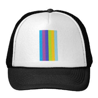 Line of colors trucker hats