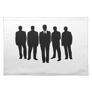 line of men placemat