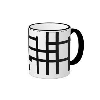 Line Ringer Mug