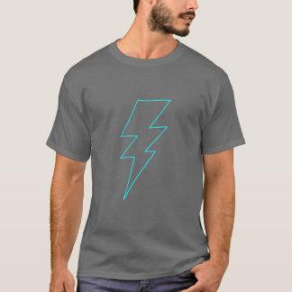 Line Thunderbolt (Cyan) T-Shirt