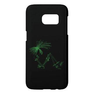 Line Times - Samsung Galaxy S7 Case - Green Dance