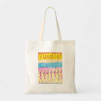 Line Up Here for Medical Experiments Budget Tote Bag