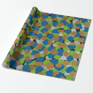 LineA Blocks of Fun Wrapping Paper