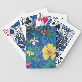 LineA Island Flora Poker Deck