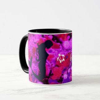 "LineA ""Life is Beautiful with Friends"" Mermaid Mug"
