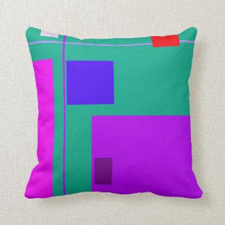 Linear Beauty Green Cushions