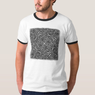 Linear Rush Op Art Psychedelic T-shirt