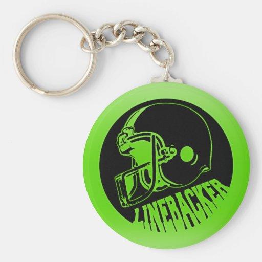 Linebacker Key Chain