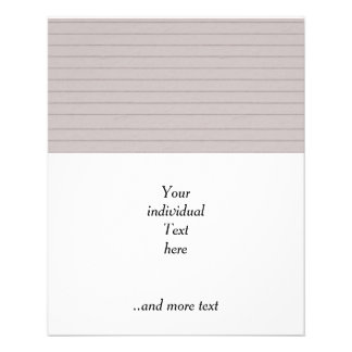 lined beige paper flyer design