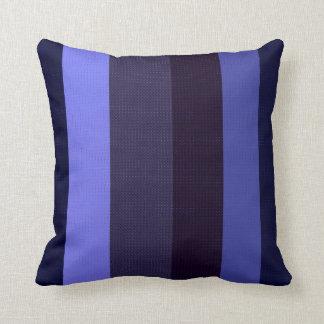 Lined Blues Decor-Soft Modern-1a Pillows