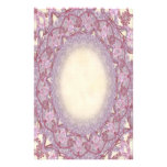 Lined Pink Rose Lace p2 Stationery Pages