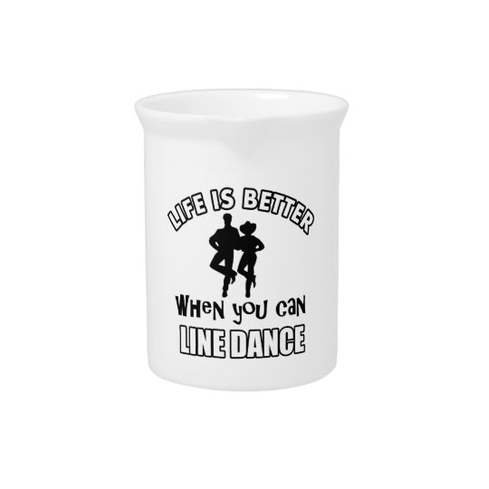 Linedance designs and merchandise pitcher