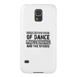 Linedancing dancing designs case for galaxy s5