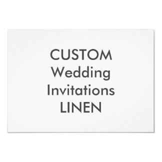 """LINEN 100lb 6.25"""" x 4.5"""" Wedding Invitations"""