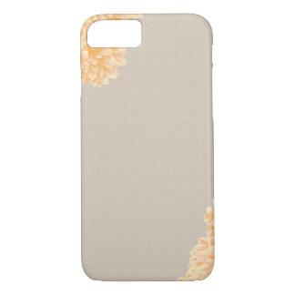 Linen and Dahlia iPhone 7 Case