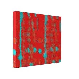 Linen cloth canvas print