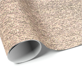 Linen Jute Cloth Burlap Rustic Gold Pink Gray Wrapping Paper