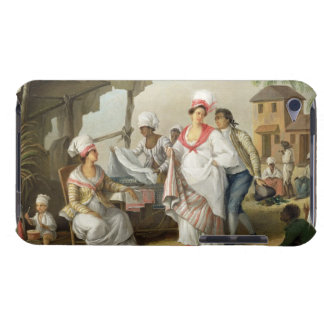 Linen Market, Roseau, Dominica, c.1780 (oil on can iPod Touch Cases