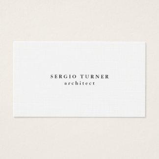 Linen Trendy Minimalist Professional