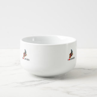 Lineolated Parakeet Soup Mug