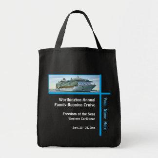 Liner Cruise Ship RFN1 Custom Grocery Tote Bag