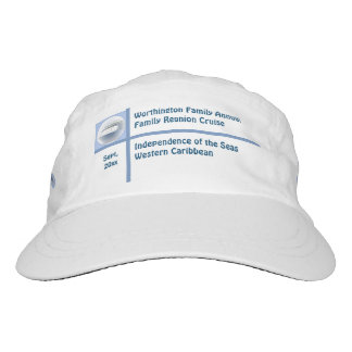 Liner Ship Cameo Custom Group Cruise Hat