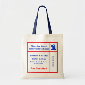 Liner Ship Group Cruise Canvas Bag