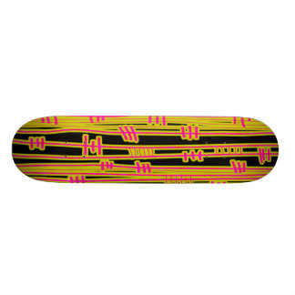 Lines Abstract - 02 Skate Deck