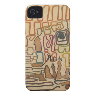 Lines and curves II by J. Kabinda iPhone 4 Case-Mate Cases