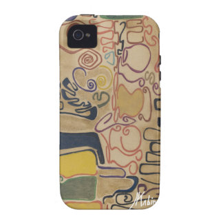 Lines and curves III by J. Kabinda Case-Mate iPhone 4 Case